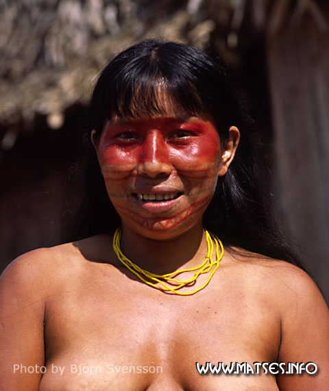 tribe Amazon woman rainforest